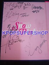 APink 2nd Mini Album - Snow Pink Autographed Signed Inside Promo CD Great