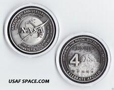 ORIGINAL - APOLLO  FLOWN TO THE MOON - NASA COMMEMORATIVE 40TH ANNIVERSARY COIN