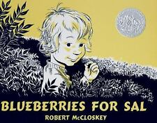 Blueberries for Sal by Robert McCloskey (1948, Hardcover)
