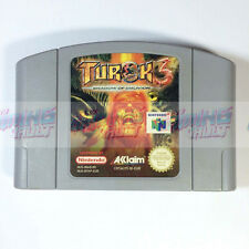 Turok 3 Shadow of Oblivion - RARE Quality Tested!) Nintendo 64 N64 PAL (VGC)