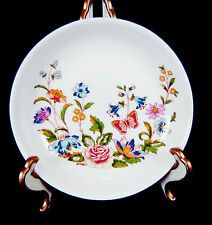 "Aynsley Cottage Garden Fine English Bone China 4-1/4"" pin jewelry dish Sticker"