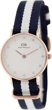 Daniel Wellington Women's Glasgow 0908DW Blue Nylon Quartz Watch