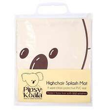 Pipsy Koala WIPE CLEAN HIGH CHAIR SPLASH MAT Baby/Toddler/Child Feeding BN