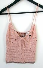 MISS SIXTY [ Size S ] As New Pink Gathered Knit Top - FREE POST