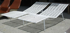 Mid Century Eames Era Patio Contour Chaise Lounges, not Brown Jordan, Refinished
