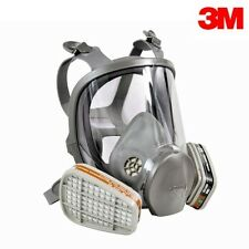 For 3M 6000 Series Full Face Gas Dust Mask Respirator - 6800 6900 Spray Paint #2