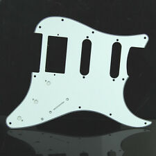 White 3 Ply Tortoise Guitar Pickguard For Fender Strat Stratocaster High Quality