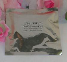 New Shiseido Bio-Peformance Super Exfoliating Disc One (1) Sealed in  Package