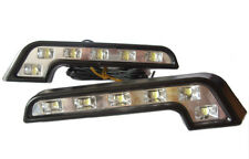L Shape DRL High Power LED Lights Lamps Replace For Nissan 200Sx S13 Silvia S14
