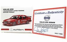VOLVO 850 - SIGNED JIM RICHARDS C.O.A. - LIMITED EDITION 1:18 AUTOART