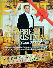 MAIL ON SUNDAY EVENT MAGAZINE 20 DEC 2015 DOWNTON ABBEY FRONT COVER . RAFE SPALL