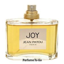 JOY by JEAN PATOU for WOMEN 2.5 oz (75 ml) EDT Spray NEW TESTER without CAP