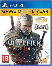 THE WITCHER III 3 WILD HUNT Game Of The Year GOTY - PS4 - NEW & SEALED