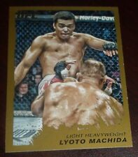 Lyoto Machida 2011 Topps Moment of Truth UFC Gold Card #29 157 98 129 Dragon 163