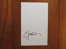 "ERIC  JEROME  DICKEY  (Best-Seller) Signed   5 1/2"" x 9""   Page   from    Book"