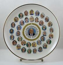 Presidents Plate Gerald Ford Era 1974-1977 200 Years Decorative Dinner Plate