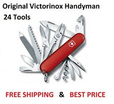 1.3773 VICTORINOX SWISS ARMY POCKET KNIFE HANDYMAN RED 1.3773 53722 VI53722