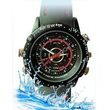 4GB Waterproof Watch Hidden Spy Security Camera Cam Video Recorder DVR Camcorder