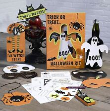 HALLOWEEN TRICK OR TREAT KIT with Masks -Childrens Party Fun- FULL RANGE IN SHOP