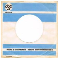 US ABC record sleeve Original 60's no writing - Impressions, Sapphires, Yum Yums