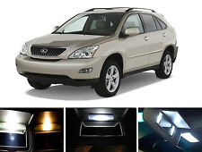 Xenon White Vanity / Sun visor  LED light Bulbs for Lexus RX 330 RX 350 (4 Pcs)