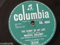 78rpm MICHAEL HOLLIDAY story of my life / keep your heart