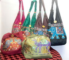 Buy 2 Get 1 Free Indian Handmade Tribal Cotton Shoulder Bag Ethnic Hippie Art