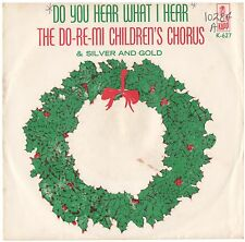 DO-RE-MI CHILDREN'S CHORUS--PICTURE SLEEVE ONLY--(DO U HEAR WHAT I HEAR)-PS--PIC