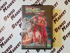 BACK TO THE FUTURE PART III 3 - SEGA MEGA DRIVE PAL EU EUR ITA ITALIANO COMPLETO