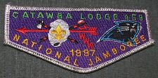 1997 National Boy Scout Jamboree Catawba Lodge 459 OA Flap MINT! Jambo Jam NJ