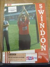 16/05/1990 Play-Off Semi-Final Division 2: Swindon Town v Blackburn Rovers  (ver