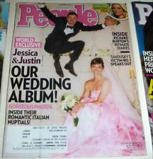 PEOPLE MAGAZINE NOVEMBER 5 2012 JUSTIN TIMBERLAKE JESSICA BIEL WEDDING