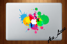 Macbook Air Pro Skin Sticker Decal - Paint Colour Splash Art  #CMAC068