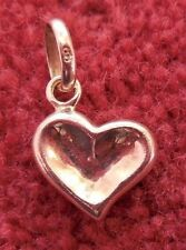 Links of London Thumbprint Heart Charm - Genuine - Sterling Silver