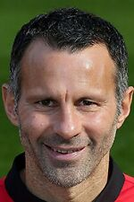 Football Photo RYAN GIGGS Man Utd 2013-2014