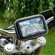 New SATNAV Waterproof GPS Case with Cycle Mount Holder for Motorcycle Bike