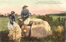 MENEZ-HOM 5970 sur le sommet costumes bretons