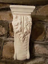 1 Architectural ornate plaster corbel bracket shelf wall decor plaque detailed