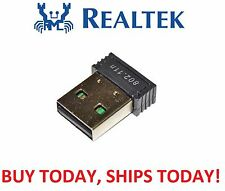 Genuine Realtek Mini 300M USB WiFi Wireless 802.11B/G/N LAN Card Network Adapter