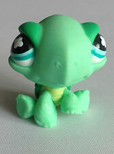 Littlest Pet Shop - RARE - 1st Gen - Green Turtle - Blue Eyes - No 642 - #642