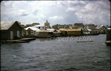 Amazon Harbor House Boats Oct 1963 KODACHROME SLIDE