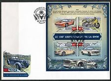 NIGER 2016 100th ANNIVERSARY OF THE BMW  SHEET  FIRST DAY COVER
