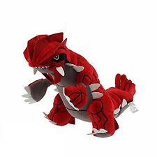 "Pokemon Center XY Japan 11"" Groudon Stuffed Plush Doll (without tag)"