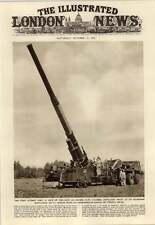 1952 The First Atomic Gun Range Of 20 Miles