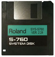Operating System Startup Disk Roland S-760 OS Boot  - Fastest Shipping! NEW