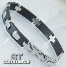 BRACCIALE UOMO in ACCIAIO Stainless Steel ST xf