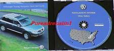 2004 VW VOLKSWAGEN TOUAREG NAVIGATION MAP CD 6 OHIO VALLEY NY PA OH WV IN KY TN