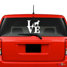 Love Vizsla Windshield Sticker Vinyl Auto Window park hungarian