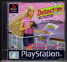 PS1 Barbie Detective ( 2002 ), UK Pal, Brand New & Sony Factory Sealed