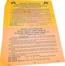 Märklin Manual de instrucciones Eléctrico Sistemas de enclavamiento central
